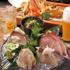 こだわりぶり料理やサクサク天ぷら