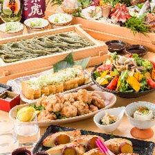 【肉寿司&特製まぜそば】2時間飲み放題付「梅コース」【全8品/4800円→3800円】
