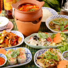 タイの名物満載!!コース料理でご宴会