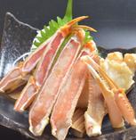 【和風メニュー①】 ズワイガニのお刺身