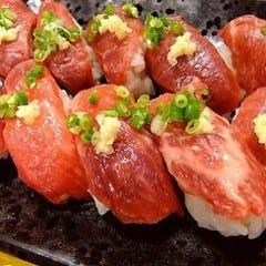 【阿波尾鶏の肉寿司食べ放題コース】3時間飲み放題付 全8品 4950円→3850円