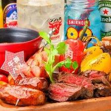 肉バル「肉(29)盛り1620円」
