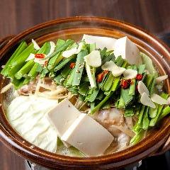 一粋特製 国産牛もつ鍋 (醤油・塩)