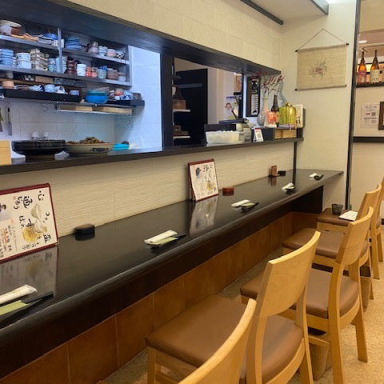 和食彩り 南天  店内の画像