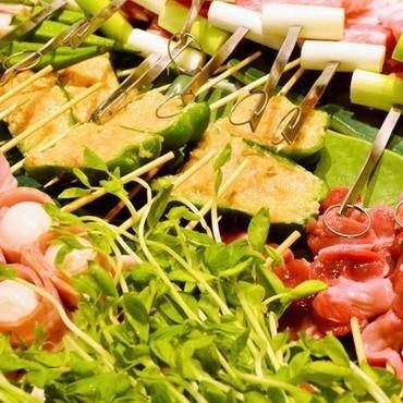 旬の野菜もふんだんに使った宴会コースとなっております!