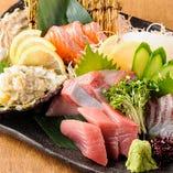 毎日、三重県伊勢志摩から鮮度抜群の旨い魚を仕入れています♪