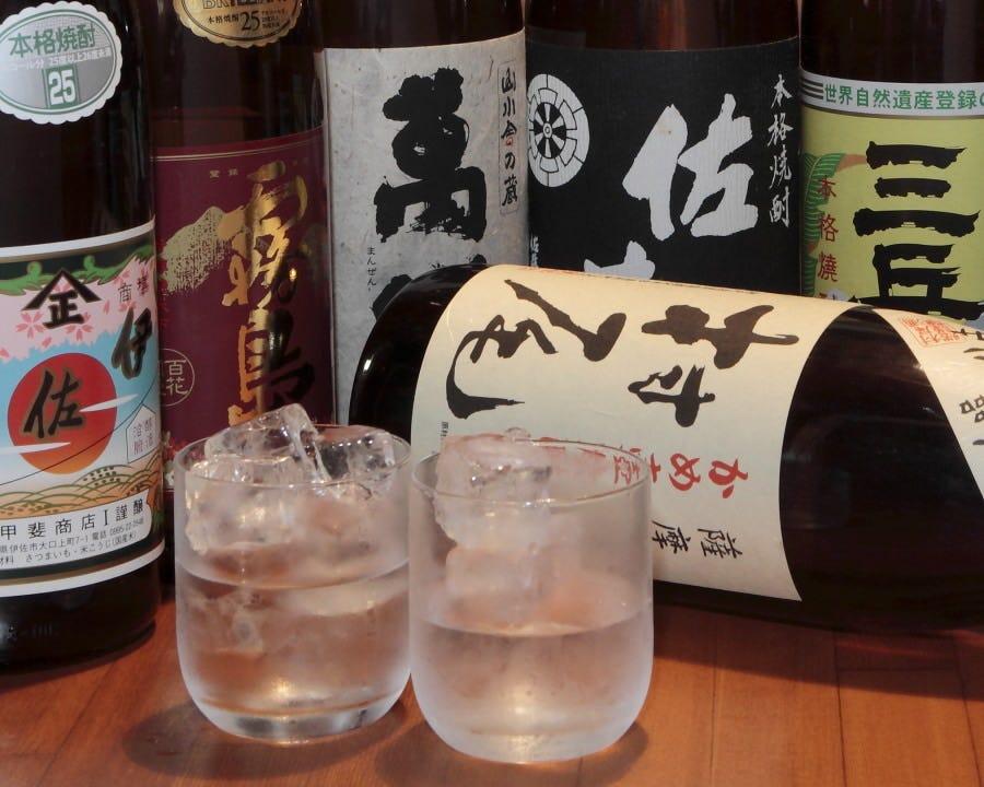 日本酒、焼酎、ワイン豊富にあります