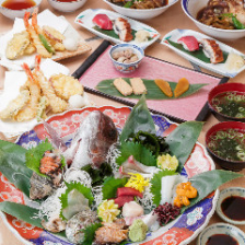 目利きが選んだ鮮魚や鍋を堪能