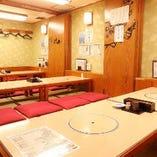 個室エリアは最大50名様までの宴会スペースとしてもご利用いただけます