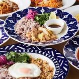 【ランチ】 多彩な多国籍料理や生パスタをお得に楽しめます!