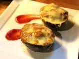 アボカドとトマトのチーズ焼き
