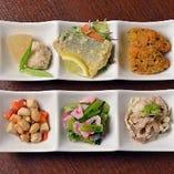 「今日のごはん・京のごはん」季節の素材を活かす自然な味わいのある料理