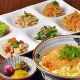 カツ丼(おばんざいビュッフェ付)