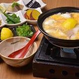 鯛の柚子雑炊(おばんざい付)