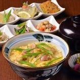 親子丼(おばんざい付)