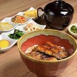 鰻丼(おばんざい付)