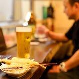 ビールにあう串カツセット