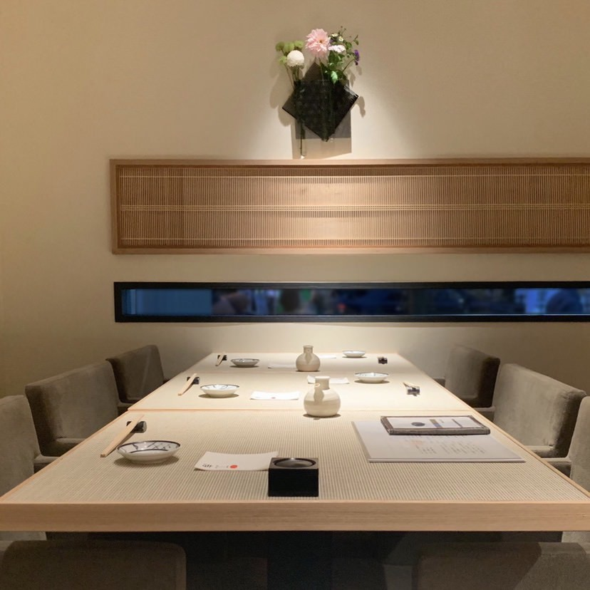 個室のお席も完備。ご会食にも是非ご利用ください。