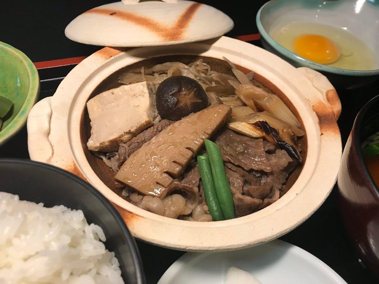 すき焼膳は仙台牛使用の人気 メニュー!売り切れごめん!