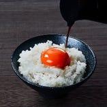 卵かけご飯(近江米)