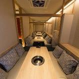 3F完全個室【2~6名様×4部屋】大人数のご宴席に対応◎お祝いやご会食にもおすすめ