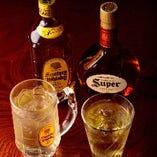 【人気の1杯】 飲みやすいウイスキーを使用したハイボール