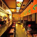 【和モダン空間】 居酒屋らしいアットホームな雰囲気が魅力