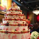 オリジナルケーキの手配も承ります!【サプライズ演出大歓迎!】