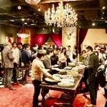 パーティー実績は年間250組★着席最大100名、立食150名迄OK!新年会・歓送迎会・2次会