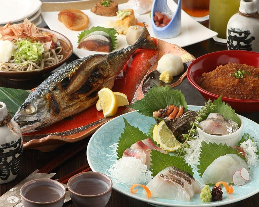 福井の魅力溢れるコースをご用意 接待や各宴会にオススメです!