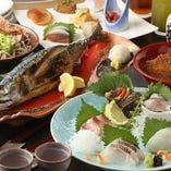 まるごと福井コースは郷土料理が満載!