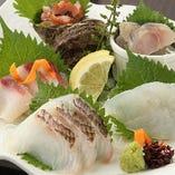 鮮魚盛合せ