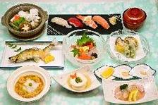 【飲み放題】職人が作るこだわりの松葉の夏の宴会コース!納得の武庫(むこ)コース♪1名様からOKです!