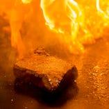 旨味たっぷりのハラミステーキはオススメの逸品