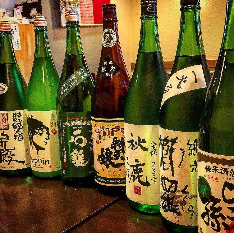 全国より本物の純米酒を取り揃えています。