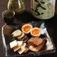 自家製燻製の盛り合わせ。日本酒が止まりません!