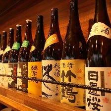純米燗酒を中心に食事と楽しめるお酒