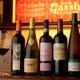 シニアワインアドバイザー厳選の40種類以上ワインのボトル