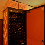 40種類以上のワインボトルがずらり