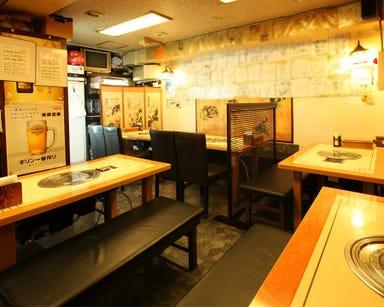 五反田 韓国家庭料理 王豚足家 店内の画像