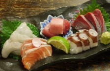 お魚料理も充実