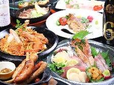 刺身…串焼…海鮮重…和食も豪華充実
