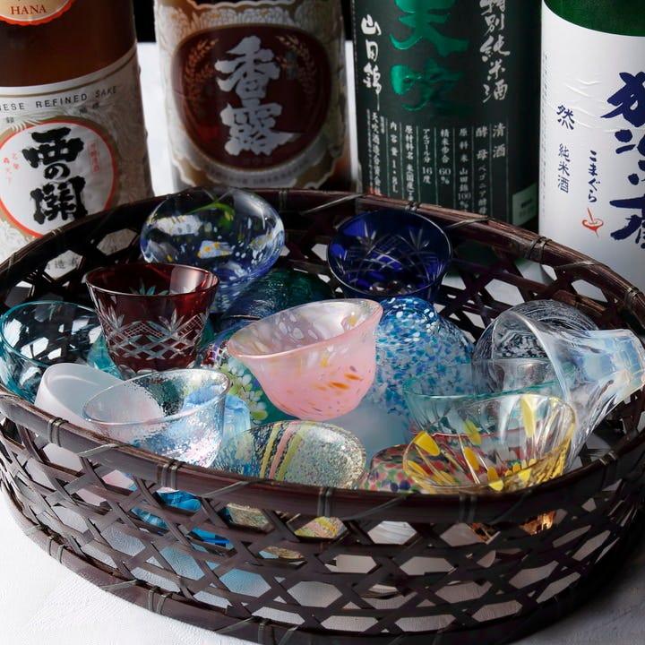 ■焼酎・日本酒の種類が豊富♪
