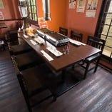 テーブル席(~6名様×2卓)