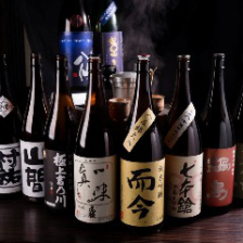 新潟以外の日本酒も豊富