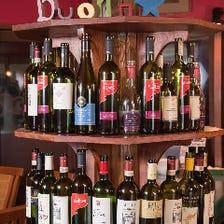 パスタに合うワインをどうぞ!