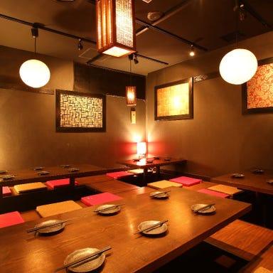 肉と和SAKE ばく 五反田本店 店内の画像