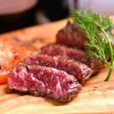 グルメな方必見の絶品肉料理を多数ご用意!
