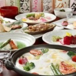 ■【春の懐石】桜が舞う華やかな季節の御料理。