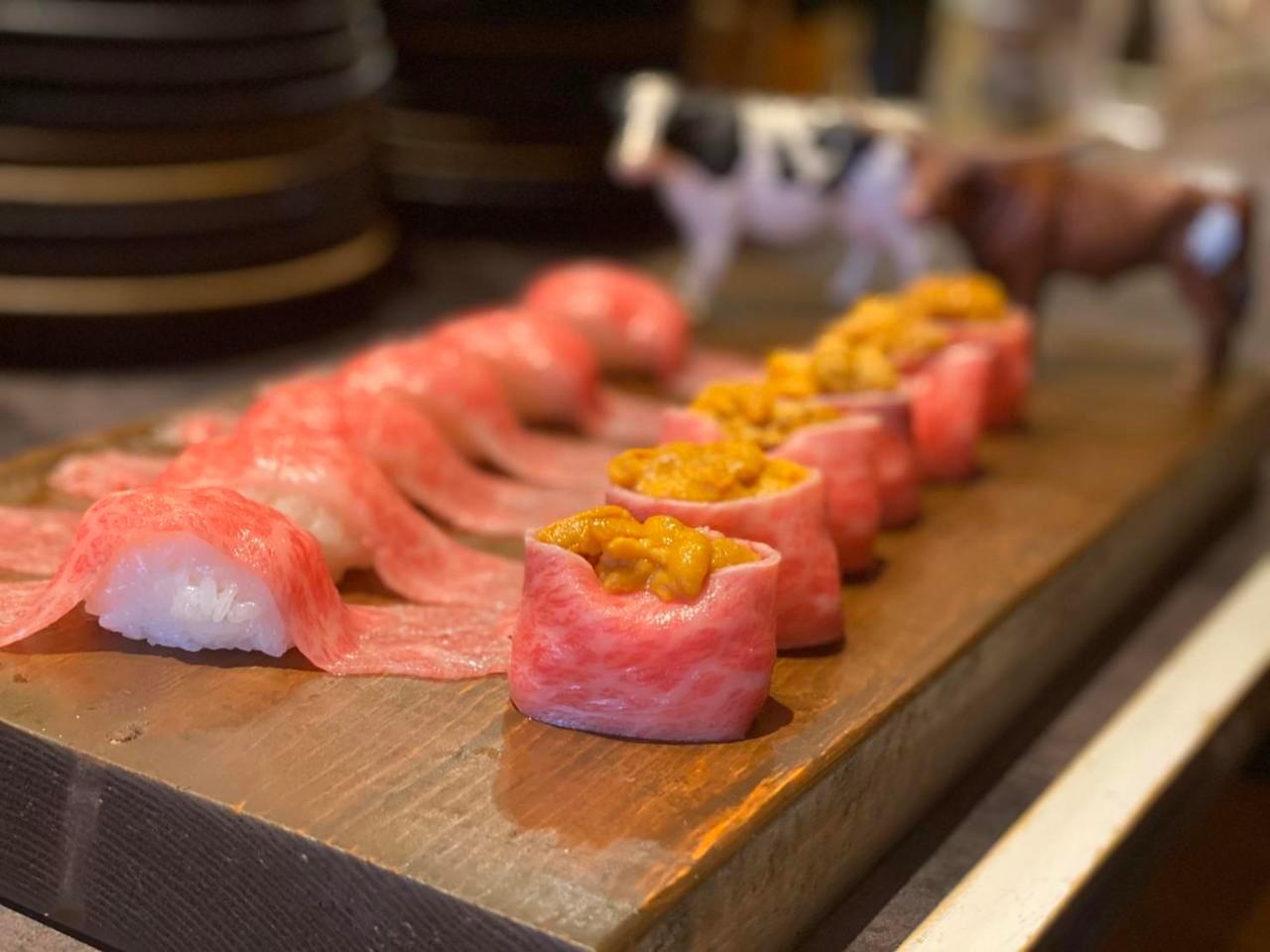 ★肉寿司を堪能!!飲み放題付きコース
